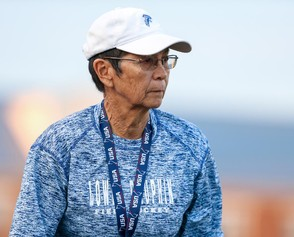 Heralded coach Linda Kreiser and her Lower Dauphin Falcons will play crosstown rival Hershey Saturday night in the Class 3A field hockey final. (PennLive)