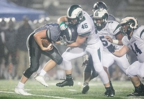 Central Dauphin's Adam Burkhart has 71 tackles on the season and has rushed for more than 1,200 yards. (PennLive)