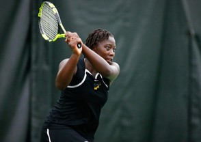 Tashanna Smith teamed with Natalie Sinai to bring the District 11 Class 3A doubles title to Freedom (lehighvalleylive.com file photo)