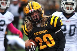 Freedom's Matty Russin was voted as the top running back by the fans. (lehighvalleylive.com file photo)