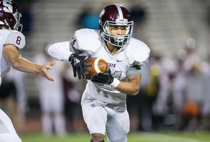 State College sophomore RB Dresyn Green broke out for more than 200 all-purpose yards and two touchdowns Friday at Central Dauphin. (PennLive)
