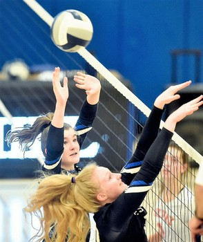 Section III girls and boys volleyball stat leaders Week 7. Photo by Dennis Nett | dnett@syracuse.com