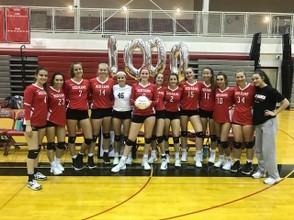 Jamesville-DeWitt's Madeline Ferris recorded her 1000th career assist on Wednesday. (Submitted photo)
