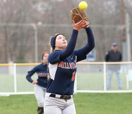 Millville softball goes for power in 9-2 win over Ocean City