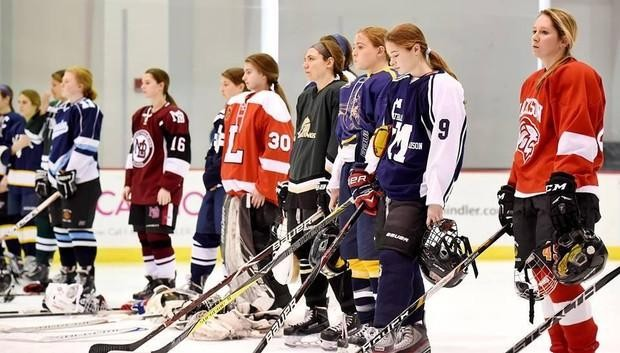 Good Girls in hockey jerseys idea