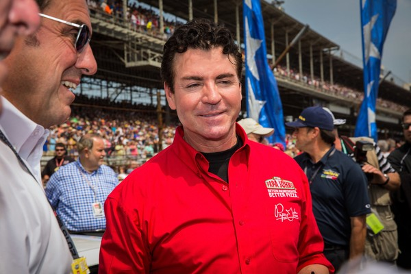 Papa John's founder and CEO John Schnatter attends the Indy 500 on May 23, 2015 in Indianapolis, Indiana.(Michael Hickey / Getty Images)
