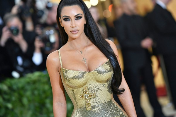Kim Kardashian arrives for the Met Gala on May 7, 2018, at the Metropolitan Museum of Art in New York. (Angela WEISS / AFP)