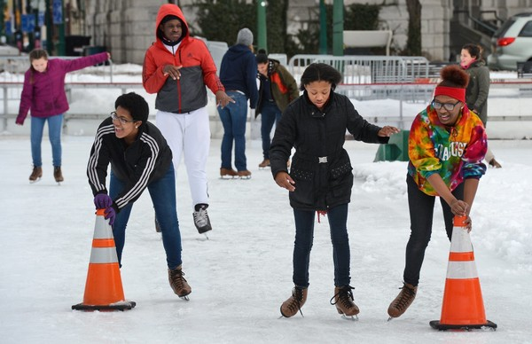 Central New York will have temperatures a bit below normal this weekend, but not so cold that it will prevent some outdoor winter fun.(Michael Greenlar | mgreenlar@syracuse.com)