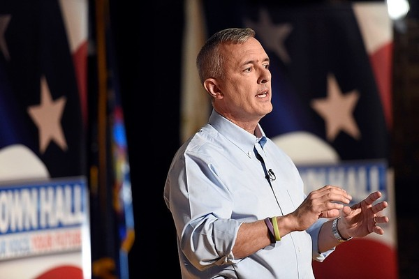 Rep. John Katko, R-Camillus, is seeking a third term in Congress. He says he's a GOP moderate who wants to work with Democrats in a hyper-partisan environment.
