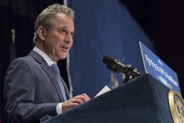 Former New York Attorney General Eric Schneiderman is seen in a file photo.