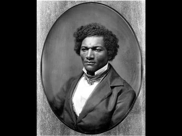 Frederick Douglass, from a full plate daguerreotype in the collection of the Onondaga Historical Association.(Onondaga Historical Association)
