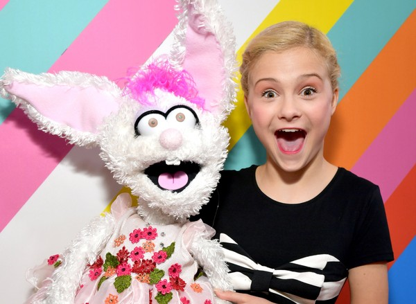Darci Lynne Farmer attends Nickelodeon's 2018 Kids' Choice Awards at The Forum on March 24, 2018 in Inglewood, California. (Emma McIntyre | Getty Images)