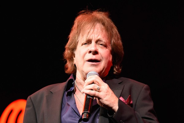 Eddie Money performs on stage during the iHeart80s Party 2017 at SAP Center on January 28, 2017 in San Jose, California.