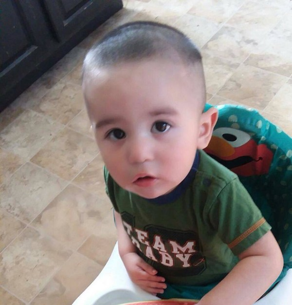 Owen Hidalgo-Calderon has been missing since May 16. His mother's body was found and the Wayne County Sheriff has said he does not expect to find the 14-month-old alive.
