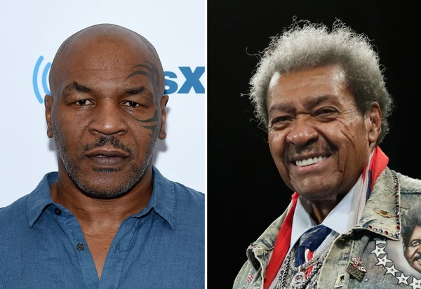 Former heavyweight champion Mike Tyson, left, and boxing promoter Don King have feuded for more than two decades.