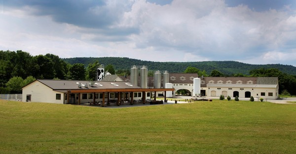 The newly expanded cafe and visitor's center at Brewery Ommegang south of Cooperstown reopens June 15, 2018 after several months of renovation.