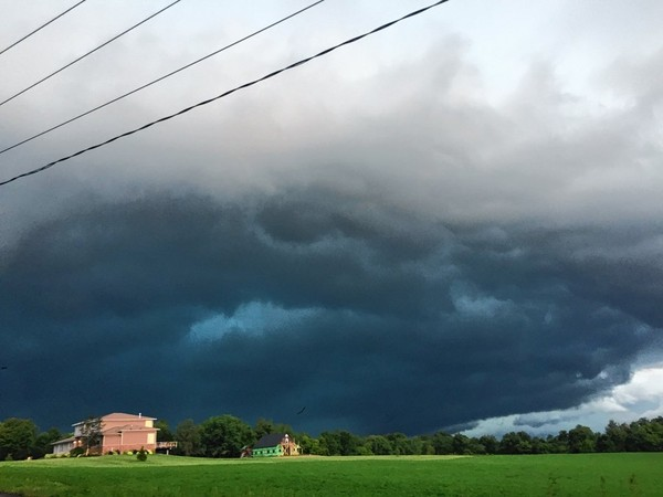 A severe thunderstorm moves across central Oneida County in this August 2016 file photo. (Glenn Coin | gcoin@syracuse.com)