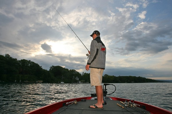 Bass anglers from 33 different colleges from five different states are scheduled to compete. (Dick Blume l dblume@syracuse.com)
