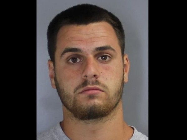 David T. Michel Jr., 22, was charged with third-degree grand larceny, state police said.