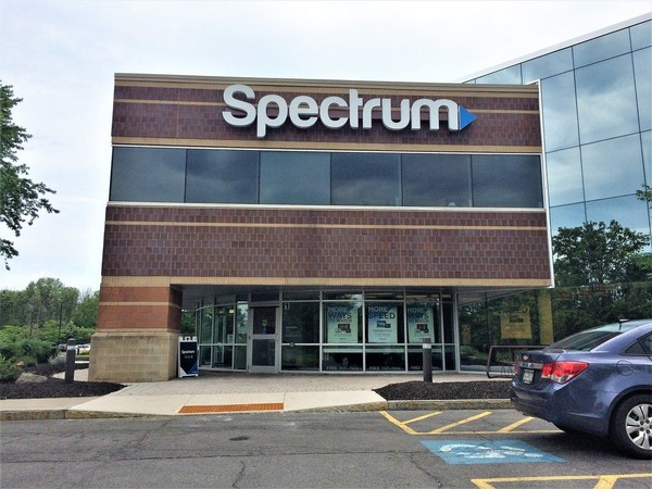 Charter Communications' Spectrum office on Fair Lakes Road in DeWitt.