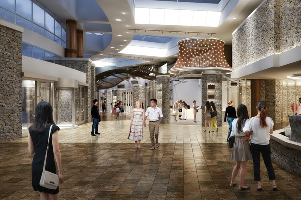 A rendering of what the new retail space will look like at The Tower at Turning Stone(Provided photo)