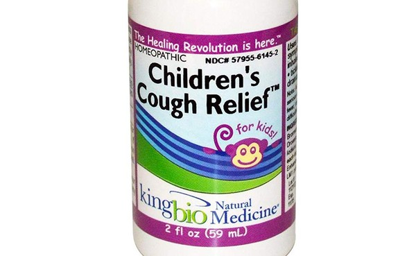 King Bio Children's Cough Relief is one of 32 children's medicines recalled, the FDA announced Wednesday.
