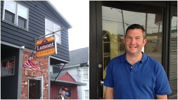 Luke Naughton, right, is taking over the Lamont Tavern at 108 Lamont Ave. in Solvay. Naughton formerly owned the Pale & Bucket Pub in Syracuse.