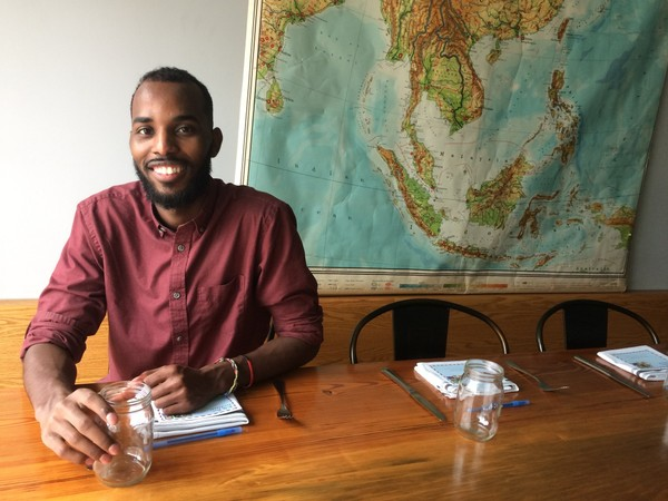 Salat Ali, 24, came to Syracuse with his father and brother when he was 11. Now he's planning to go back to Africa to see his mother for the first time in 13 years.