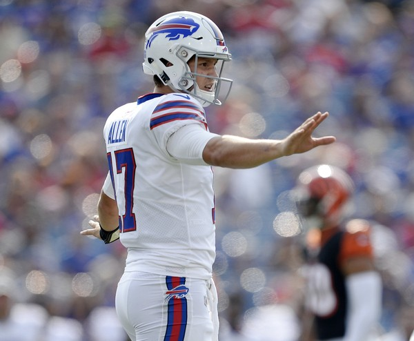 Bills running back LeSean McCoy said rookie quarterback Josh Allen is the kind of quarterback he would draft because of his talent.