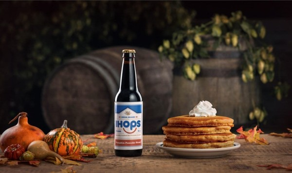 IHOPS, a pumpkin-pancake stout from IHOP, is made in Kingston, N.Y. by craft brewer Keegan Ales. It's a limited edition beer available only at select bars and festivals in the Hudson Valley and New York City metro area.
