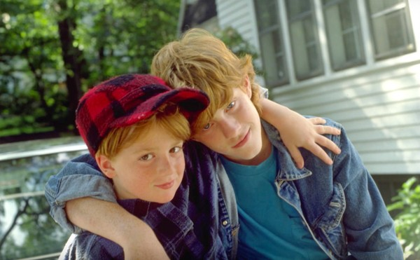 "Michael C. Maronna, right, and Danny Tamberelli starred on ""The Adventures of Pete & Pete"" on Nickeldodeon from 1992 to 1996. (Nick video still)"