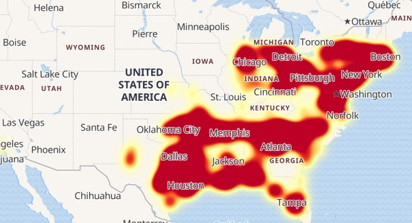Indiana And Michigan Power Outage Map.Update Verizon Wireless Says Outages Fixed No Issues In Upstate Ny