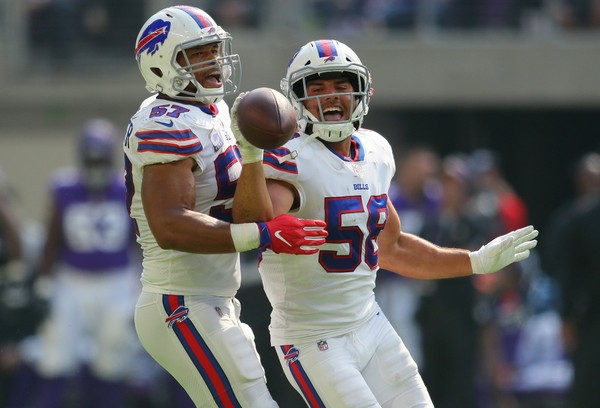 outlet store ffc57 76ad5 Bills LB Matt Milano named AFC Defensive Player of the Week ...