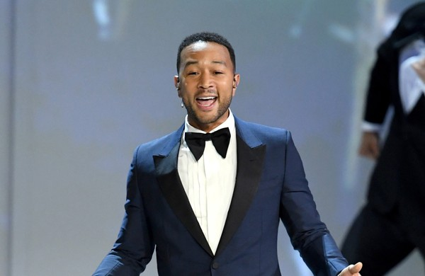 John Legend performs onstage during the 70th Emmy Awards at Microsoft Theater on September 17, 2018 in Los Angeles, California. (Kevin Winter | Getty Images)