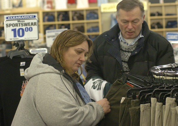 Customers shop at 'Herb' Phillipson's in this file photo.  (File photo)