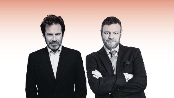"""Dennis Miller and Mark Steyn present """"The Adorable Deplorable"""" comedy tour.(Provided photo)"""