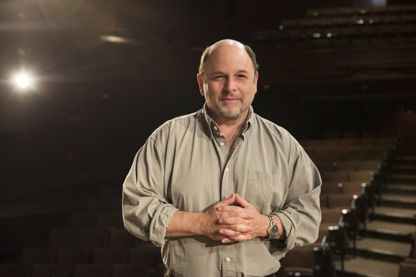 """Former """"Seinfeld"""" star Jason Alexander is pictured at Syracuse Stage."""