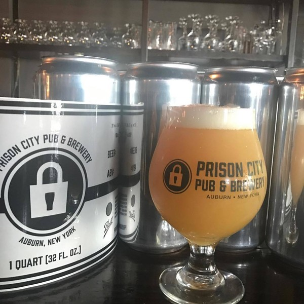 Auburn's Prison City Pub & Brewery, a downtown brewpub, plans to expand with a larger production facility at 197-199 North St. The brewery has won wide acclaim for its beers, such as the hazy IPA called Mass Riot. (Prison City Brewing)
