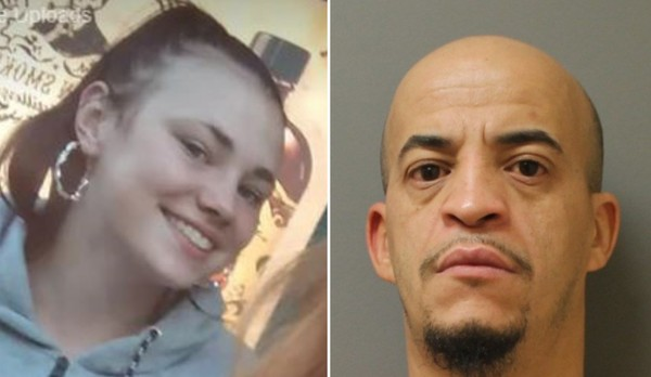 Rochester Police believe Robert Gonzalez, right, abducted 14-year-old Joanna Coates, left. An AMBER Alert has been issued. (NYS Police)