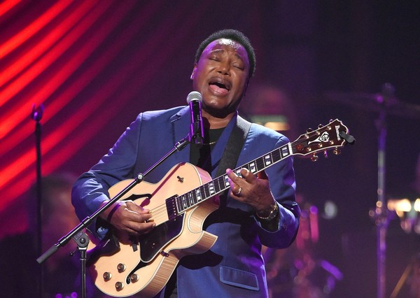 "Recording artist George Benson performs during the 19th annual Keep Memory Alive ""Power of Love Gala"" benefit for the Cleveland Clinic Lou Ruvo Center for Brain Health honoring Andrea Bocelli and Veronica Bocelli at MGM Grand Garden Arena on June 13, 2015 in Las Vegas, Nevada."