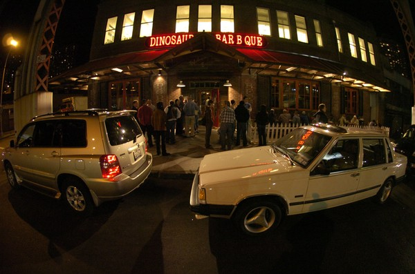 The Dinosaur Bar-B-Que in Harlem had a fire in late November.