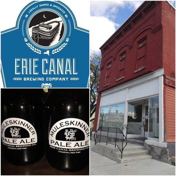 The Erie Canal Brewing Co. plans to combine its brewhouse and tap room into the historic building at 102 S. Peterboro St. in Canastota by late 2019.