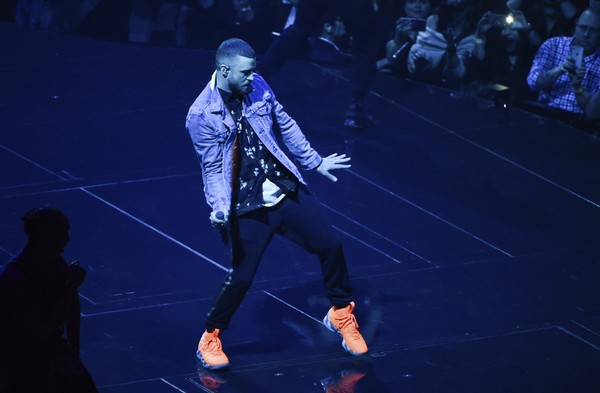 Singer Justin Timberlake performs at Madison Square Garden during the Man of the Woods Tour on Thursday, March 22, 2018, in New York.