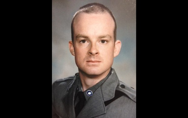 This undated photo provided by the New York State Police shows Trooper Christopher Skinner, who was struck by a vehicle and killed, Thursday, May 29, 2014, while he was conducting a traffic stop outside his patrol car on Interstate 81 north of Binghamton, N.Y.