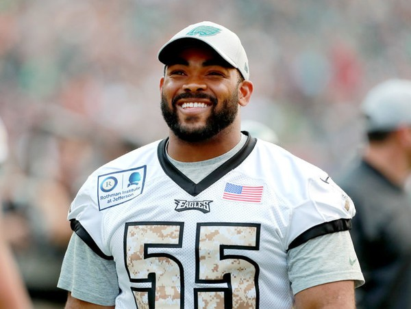 on sale 68a35 9656e Eagles' Brandon Graham returns to practice, activated off ...