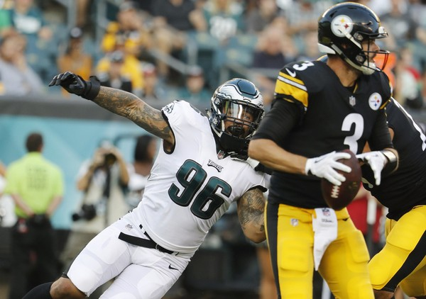 7bd81a466 Eagles defensive end Derek Barnett will miss Sunday s game against the  Minnesota Vikings with a shoulder