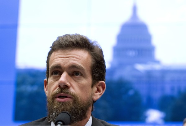 Twitter CEO Jack Dorsey testifies before the House Energy and Commerce Committee Wednesday, Sept. 5, 2018, in Washington.