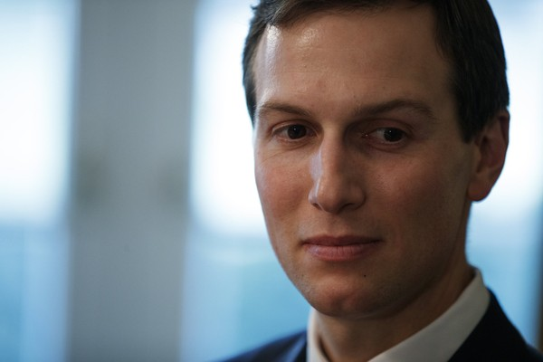 White House senior adviser Jared Kushner listens during a meeting between President Donald Trump and newly elected governors in the Cabinet Room of the White House, Thursday, Dec. 13, 2018, in Washington. (AP Photo/Evan Vucci)
