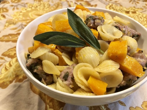 This Orecchiette pasta dish is filling, warm and screams fall