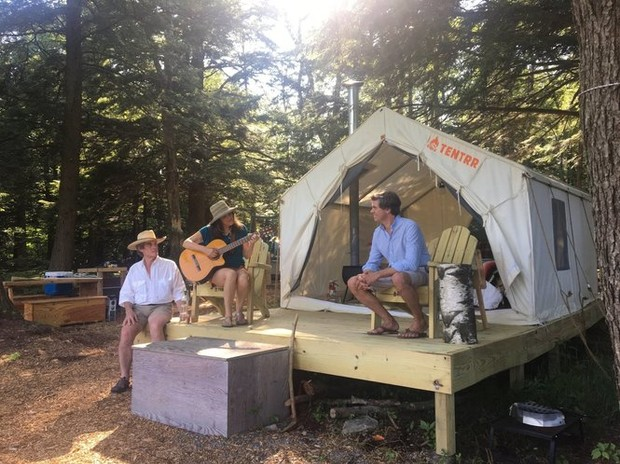 Rent a tent: Startup matches Upstate NY landowners with ...